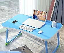 Folding Laptop Bed Table,Portable Bed Tray Lap