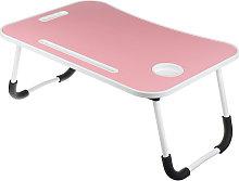 Folding laptop desk