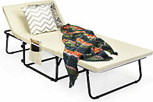 Folding Lounge Chair Convertible Spong Sofa Bed