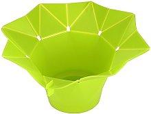 Folding Microwave Silicone DIY Popcorn Maker
