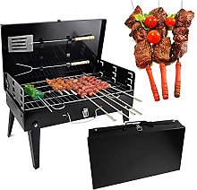 Folding Portable BBQ, Stainless Steel Portable