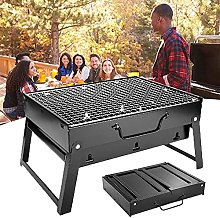 Folding Portable Grill, Outdoor Stainless Steel