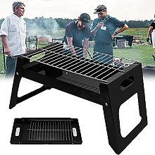 Folding Portable Grill, Stainless Steel Barbecue