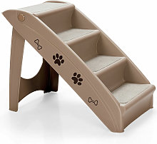 Folding Portable Pet Stairs 4 Step Dog Puppy