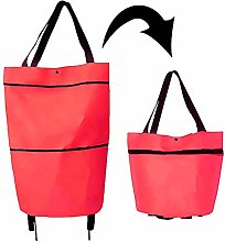 Folding Shopping Bag,Collapsible Trolley Bags, 2