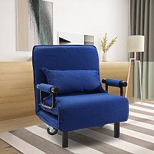 Folding Single Bed Sleeper Sofa Recliner Futon