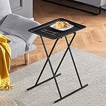 Folding Small Sofa Side Table Corner, Living Room