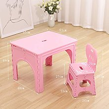 Folding Table And Chair Childrens, Portable