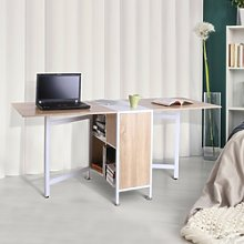 Folding Table Computer Desk Workstation With