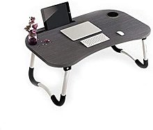 Folding table - Laptop desk bed with a lazy