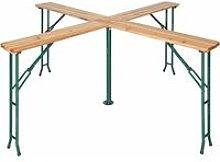 Folding table Quattro 241 x 241 x 103 cm - bar