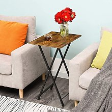 Folding TV Tray Table, Snack Table, Sofa Table for