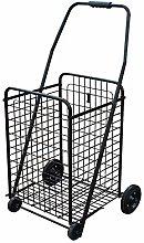Folding Utility Cart On Wheels, Lighweight And