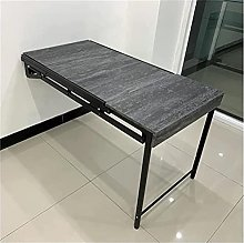 Folding Wall-Mounted Drop-Leaf Table Computer Desk