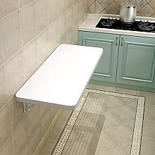 Folding Wall Mounted Table - Save Space White