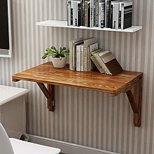 Folding Wall Mounted Workbench Solid Wood Drop