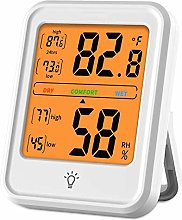 FOLIVORA Room Thermometer, Digital Indoor