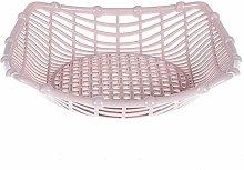 Folk Culture Bowl Fruit Basket Plastic Tray Dried