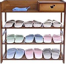 FOLOSAFENAR Shoe Rack Durable Show Cabinet Stand