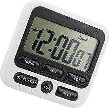FOLOSAFENAR Stopwatch Clock Timer, Space Saving