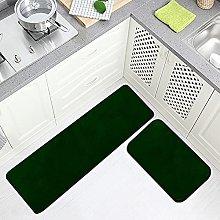 FOLPPLY Floor Mat Olive Green, Non Slip Runner Rug
