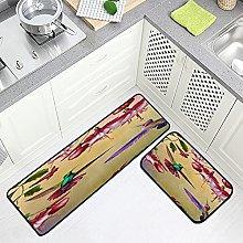 FOLPPLY Kitchen Floor Mat, Non-slip Comfort Office