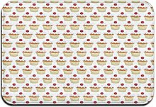 FONSMAY Welcome Mat Area Rugs, Muffin Design Soft