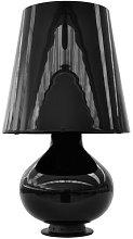 Fontana Large Table lamp by Fontana Arte Black