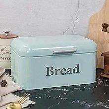 Food Box Vintage Bread Box Cupboard Iron Snack Box