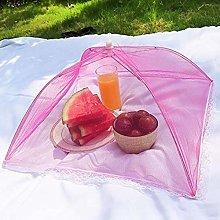 Food Cover Folding Food Covers Umbrella Shape Mesh