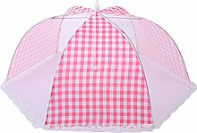 Food Cover Round Grids Foldable Mesh Anti Fly