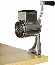 Food Grinder with 5 Drum-Shaped Rotary Grinder,