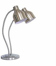 Food Heat Lamp, Double bulb with 19cm Large
