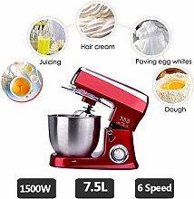 Food Stand Mixer,7.5L Stainless Steel Bowl,Dough