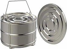 Food Steamer Basket Stainless Steel Steam Grid