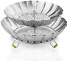 Food Steamer Baskets For Cooking 2 Layers -