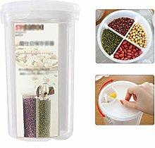 Food Storage Box Transparent Portable Kitchen Dry