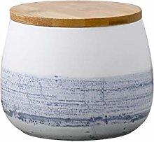 Food Storage Canister, Round Ceramic Cookie Jars