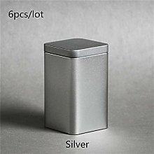 Food Storage Container Canister Home Metal Sealed