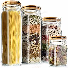 Food Storage Containers Set, Kitchen Large Wide