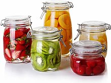 Food Storage Jar Glass Food Storage Jar with