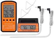 Food Thermometer Wireless Remote BBQ Thermometer