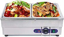 Food Warmer Buffet Server & Hot Plate - 2 Tray