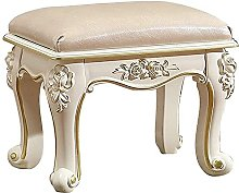 Foot Stool,Small Sofa stool PU Leather Padded