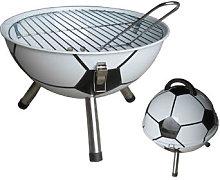 Football Charcoal Barbecue - Goodesmith