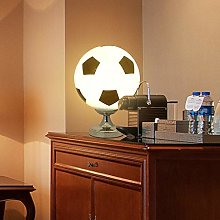 Football Table Lamp Modern Glass Lampshade with
