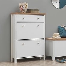 Foote 10 Pair Shoe Storage Cabinet August Grove