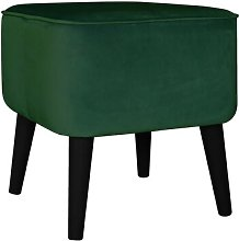 Footstool MONKEY MACHINE Upholstery Colour: Bottle