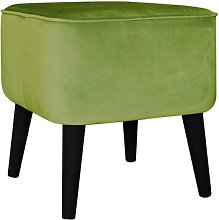 Footstool MONKEY MACHINE Upholstery Colour: Green