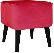 Footstool MONKEY MACHINE Upholstery Colour: Pink